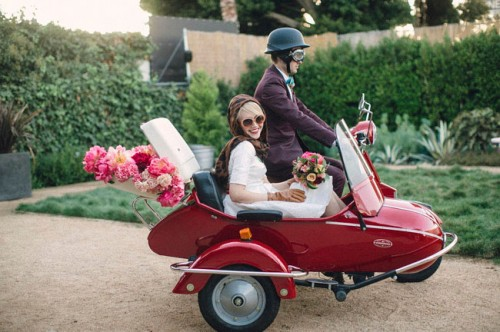 Retro-Styled Moto Wedding Inspiration