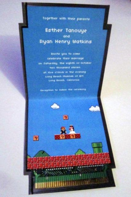 Retro Video Games Wedding Inspirations