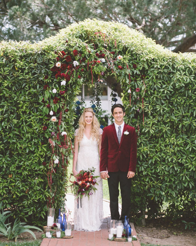 wedding ideas that are different picture of rich hues oxblood and cobalt wedding inspiration 27781