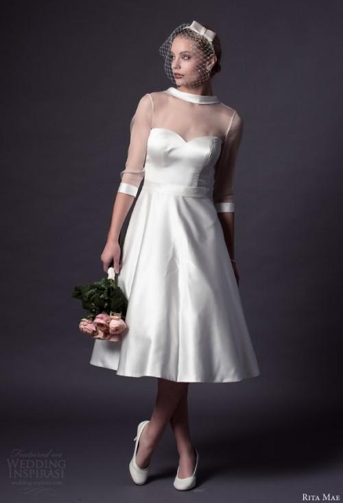 Rita Mae 2015 Short Wedding Dresses Collection