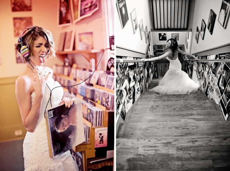 Rock The Dress Bridal Shoot Idea