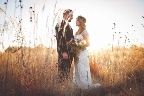 Romantic And Boho Inspired Woodland Inspiration With Marsala Tones