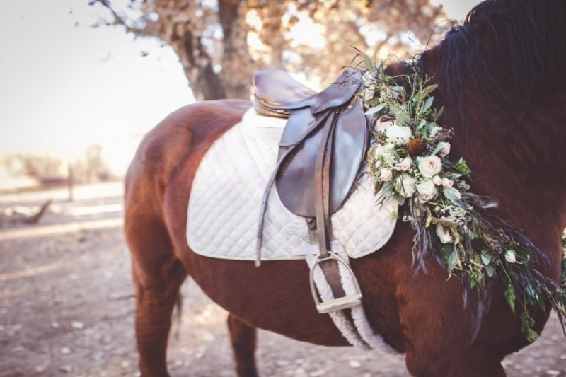 Picture Of romantic and boho inspired woodland inspiration with marsala tones  4