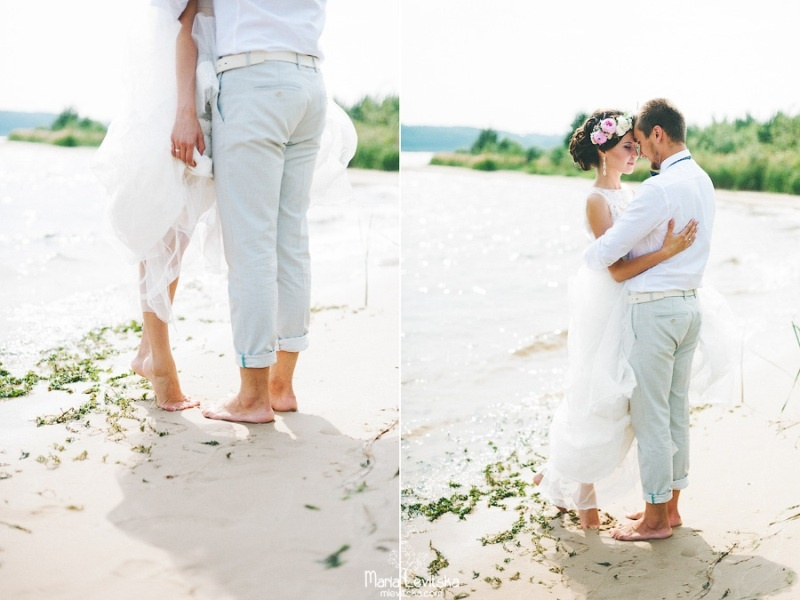 Picture Of romantic and sincere rustic summer wedding inspiration  10