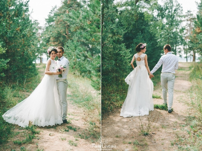 Picture Of romantic and sincere rustic summer wedding inspiration  13