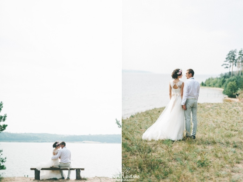 Picture Of romantic and sincere rustic summer wedding inspiration  14