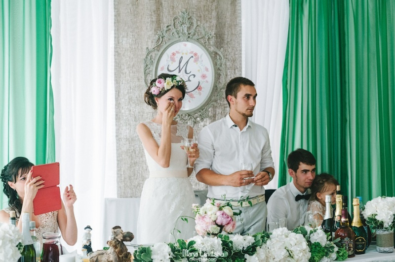 Picture Of romantic and sincere rustic summer wedding inspiration  31
