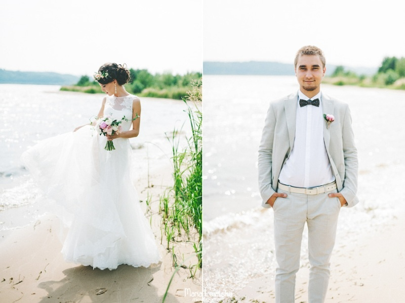 Picture Of romantic and sincere rustic summer wedding inspiration  7