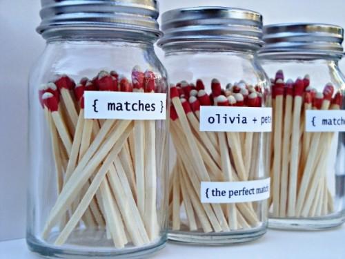 perfect match save the date (via ruffledblog)