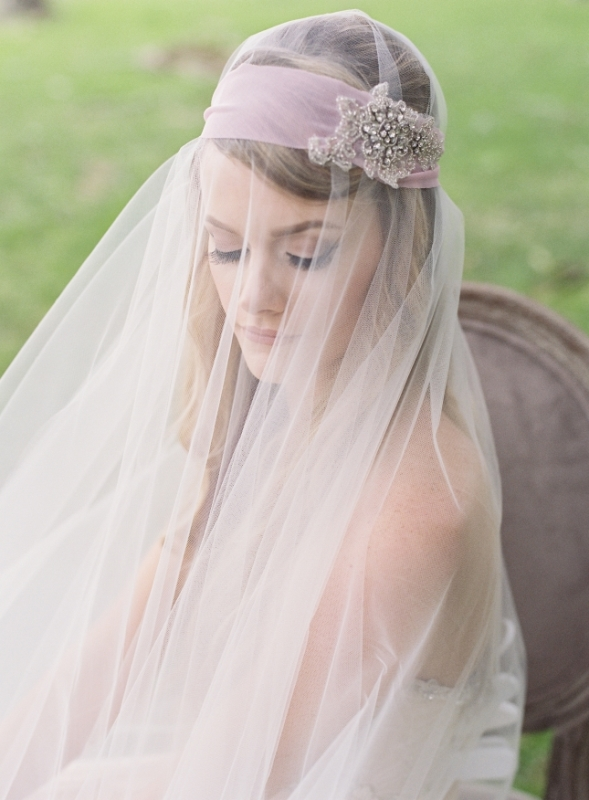 Picture Of romantic blush pink outdoor wedding inspiration  1