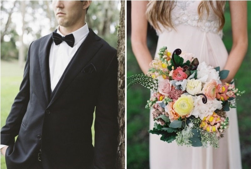Picture Of romantic blush pink outdoor wedding inspiration  4