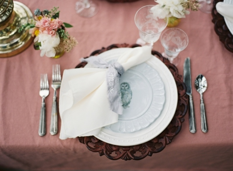 Picture Of romantic blush pink outdoor wedding inspiration  8
