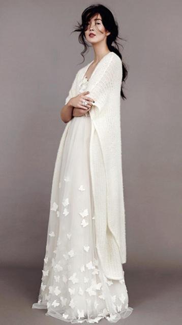 Romantic Butterflies: Papillon D'Amour Wedding Dress Collection