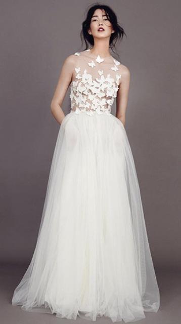 Romantic Wedding Dresses 99 Elegant Romantic Butterflies Papillon D