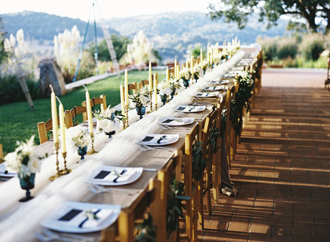 Romantic Destination Wedidng With Blush Hints In Tuscany