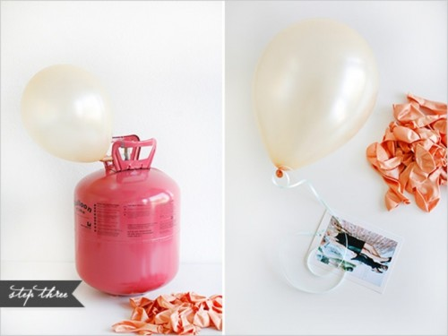 Romantic Diy Balloon Chandelier For Your Engagement Or Wedding