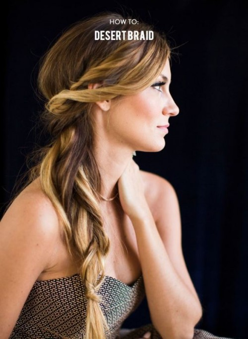 Romantic DIY Boho-Inspired Desert Braid