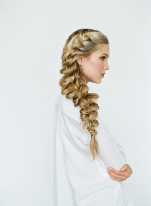 Romantic Diy Side Braid To Try