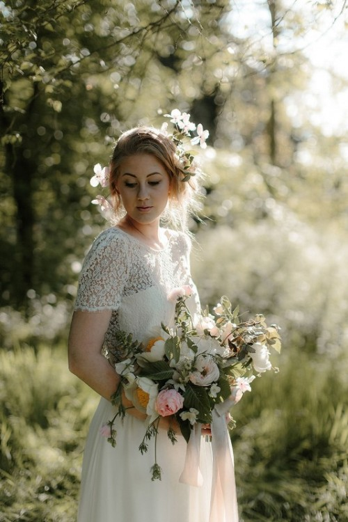 Romantic English Garden Wedding Inspiration