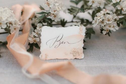 Romantic English Garden Wedding Inspiration