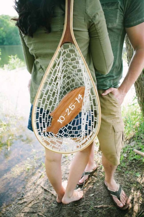 Romantic Fishing Adventure Engagement Session