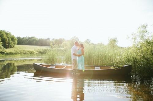 Romantic Fishing Adventure Engagement Session