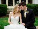 Romantic Gold Glitter Wedding Inspiration