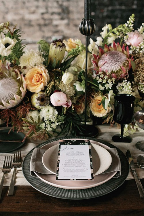Romantic Industrial Wedding Shoot With Personalized Touches