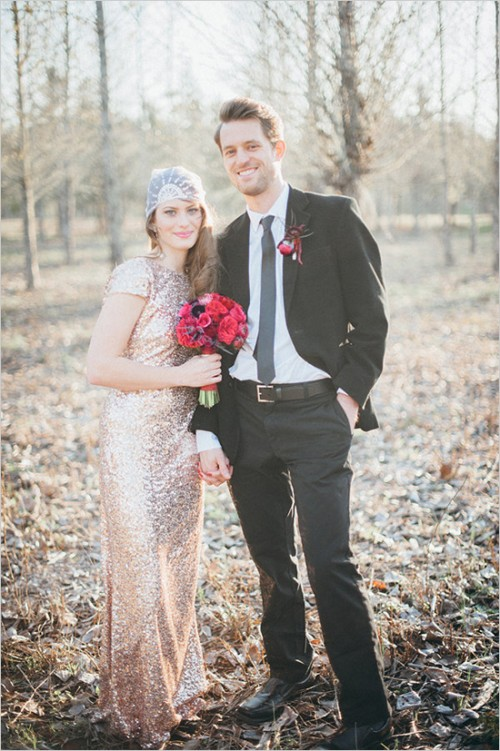 Romantic James Bond Inspired Wedding Shoot