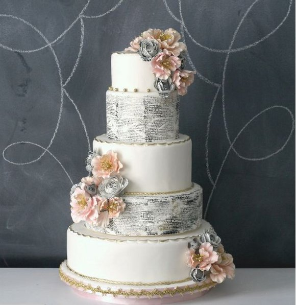 Love Letter Wedding Cakes