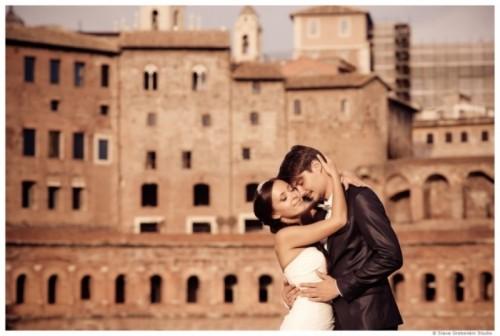 Romantic Modern Destination Wedding In Rome