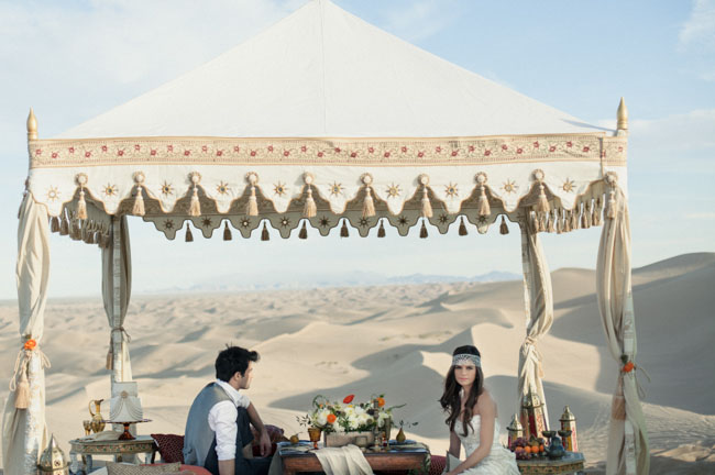 Romantic Moroccan Wedding Inspiration In Light Colors