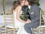 Romantic Pink Green And Gold Wedding Inspirational Ideas