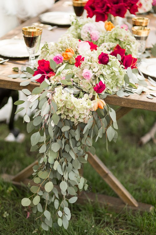 Romantic Renaissance Wedding Inspiration With Lush Florals