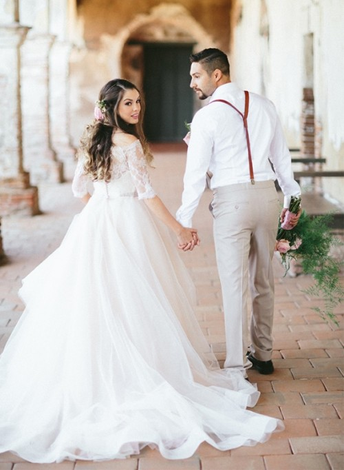 Romantic Spanish Wedding Inspirational Shoot