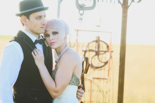 Romantic Steampunk Wedding Inspiration