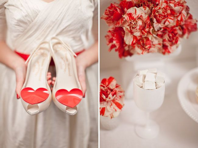 Picture Of Romantic Valentines Day Wedding Ideas