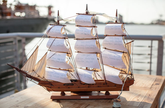 Picture Of romantic wedding shoot on a historic ship  18