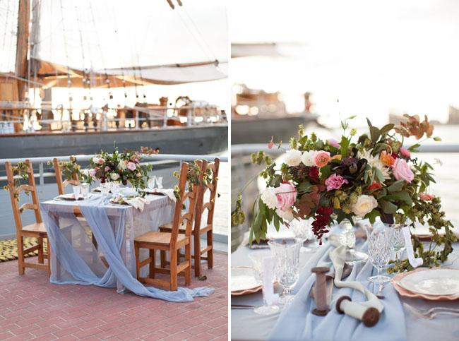 Picture Of romantic wedding shoot on a historic ship  19