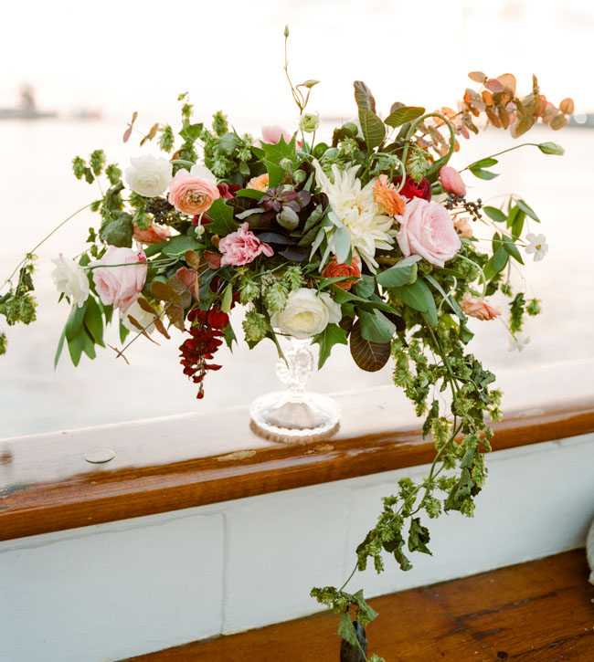 Picture Of romantic wedding shoot on a historic ship  22