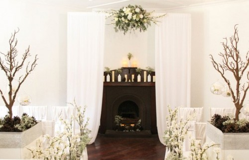 Romantic Winter Wonderland Wedding Inspiration