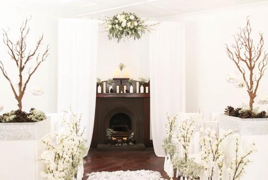Picture Of romantic winter wonderland wedding inspiration  5