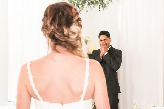 Picture Of romantic winter wonderland wedding inspiration  7