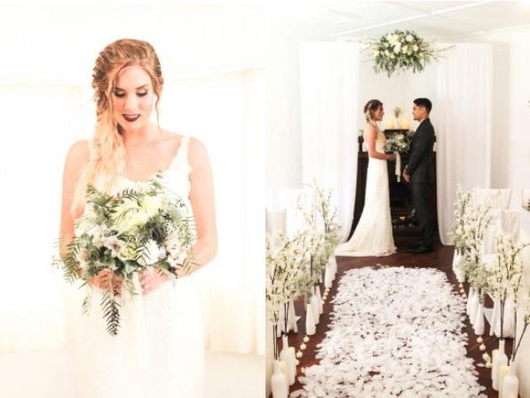 Picture Of romantic winter wonderland wedding inspiration  8