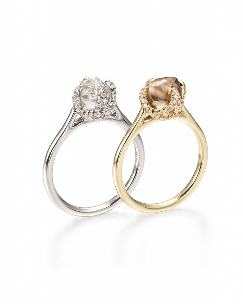 Rough Diamond Engagement Rings By Diamond In The Rough