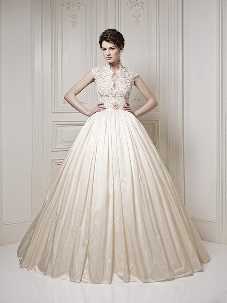 Wedding Dresses Luxury : Royal luxury wedding dresses by ersa atelier weddingomania