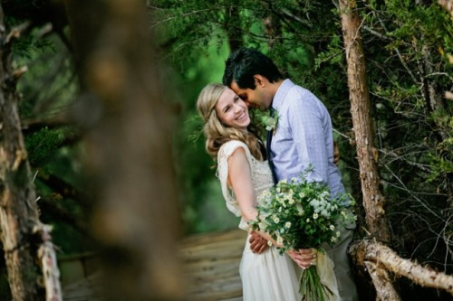 Rustic Woodland Wedding Inspirational Shoot