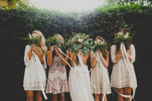 Picture Of rustic and budget friendly nature inspired wedding  2