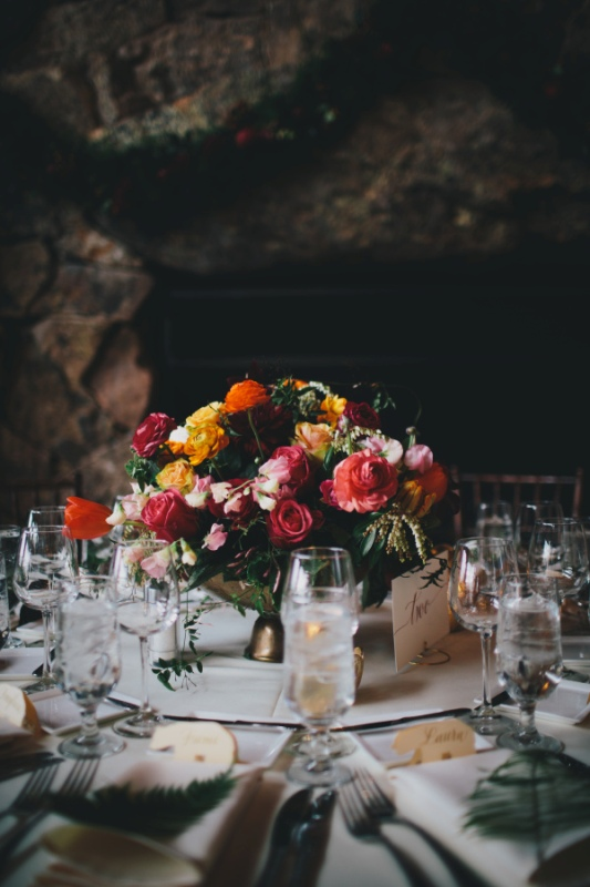 Picture Of rustic and elegant aspen winter wedding inspiration  10