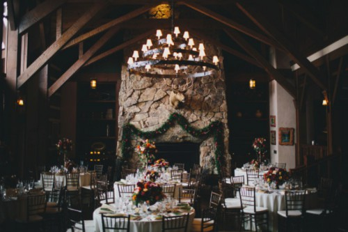 Rustic And Elegant Aspen Winter Wedding Inspiration